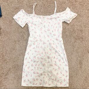 Divided by H&M Floral Button Down Dress
